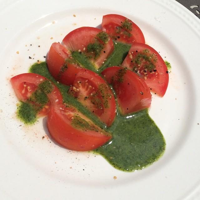 Tomato & Sweet Basil Vinaigrette