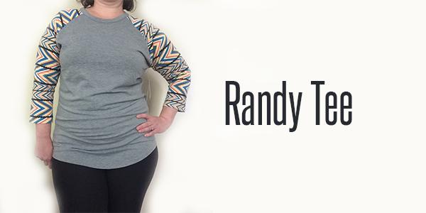 Randy Tee Header